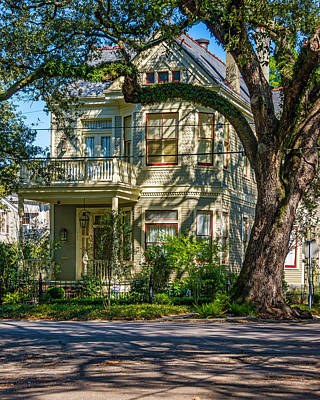 New Orleans Home 3 Art Print by Steve Harrington
