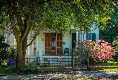 Tree Photograph - New Orleans Home 8 by Steve Harrington