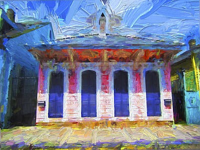 Photograph - House In New Orleans 1 - New Orleans House 01  by Carlos Diaz