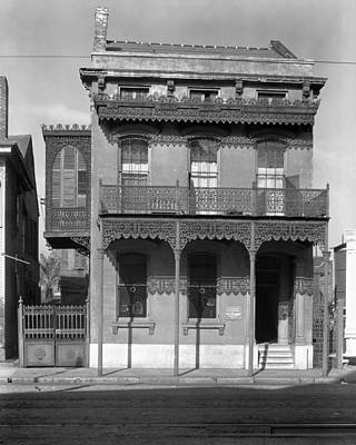St Charles Avenue Photograph - New Orleans House, 1936 by Granger