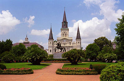 Photograph - New Orleans - Jackson Square 2 by Frank Romeo