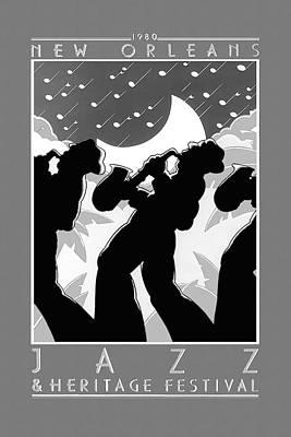 Jazz Mixed Media - New Orleans Jazz Festival by David Wagner