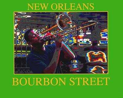 New Orleans Jazz Art Print