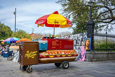Dogs Photograph - New Orleans - Lucky Dogs  by Steve Harrington