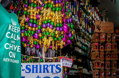 Photograph - New Orleans Mardi Gras And Voodoo by Andy Crawford