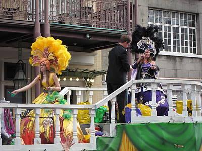 New Orleans - Mardi Gras Parades - 1212121 Art Print by DC Photographer