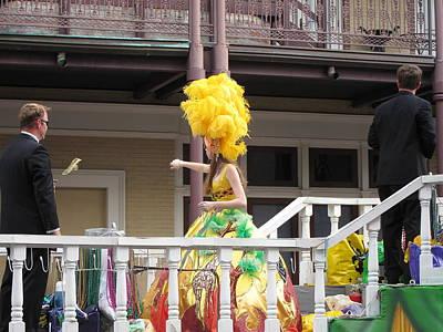 Orleans Photograph - New Orleans - Mardi Gras Parades - 1212122 by DC Photographer