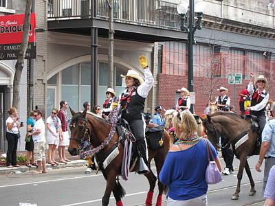 Parade Photograph - New Orleans - Mardi Gras Parades - 1212136 by DC Photographer