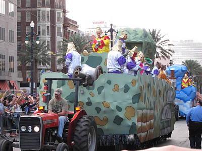 Orleans Photograph - New Orleans - Mardi Gras Parades - 121215 by DC Photographer