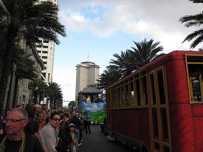 New Orleans - Mardi Gras Parades - 121239 Art Print
