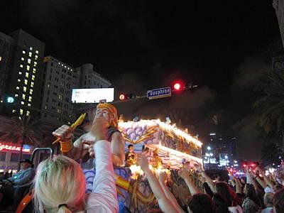 New Orleans - Mardi Gras Parades - 121249 Art Print by DC Photographer