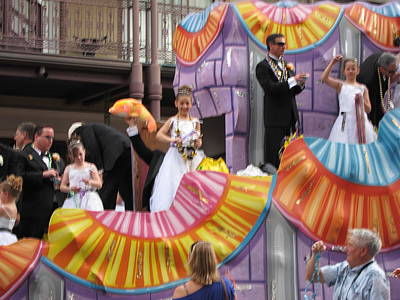 News Photograph - New Orleans - Mardi Gras Parades - 121267 by DC Photographer