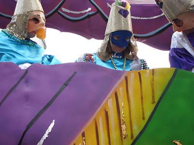 Orleans Photograph - New Orleans - Mardi Gras Parades - 12128 by DC Photographer
