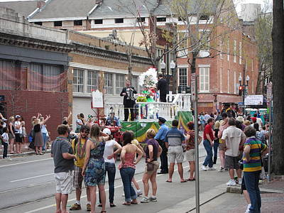 Parade Photograph - New Orleans - Mardi Gras Parades - 121295 by DC Photographer