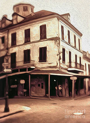 New Orleans - Old Absinthe Bar Art Print by Gregory Dyer
