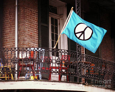 Photograph - New Orleans Peace by Valerie Reeves