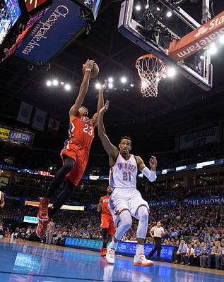 Photograph - New Orleans Pelicans V Oklahoma City by Richard Rowe