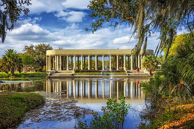 Metairie Photograph - New Orleans Peristyle 2 by Steve Harrington