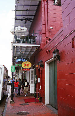 Photograph - New Orleans Restaurant 2 by Frank Romeo