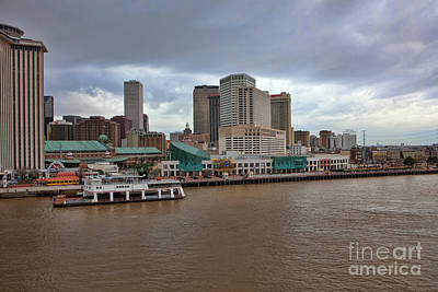 Photograph - New Orleans Riverfront by Kay Pickens