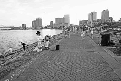 Photograph - New Orleans Riverwalk by Louis Maistros