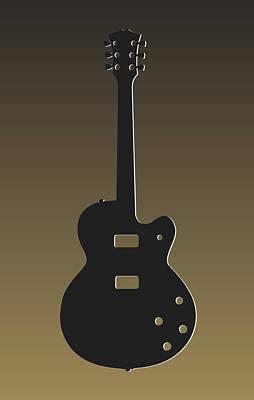Orleans Photograph - New Orleans Saints Guitar by Joe Hamilton