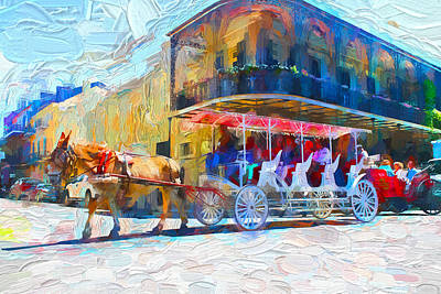 Photograph - New Orleans Series 53 by Carlos Diaz