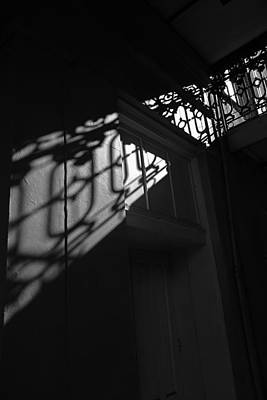 Photograph - New Orleans Shadowplay by Louis Maistros