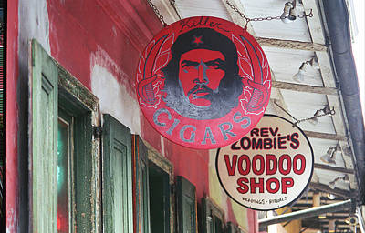 Photograph - New Orleans Shops by Frank Romeo