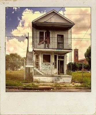 Shotgun Houses Wall Art - Photograph - New Orleans Shotgun by Dominic Piperata