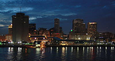 Photograph - New Orleans Skyline by Joe Kozlowski
