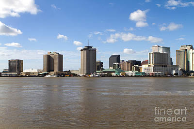 Photograph - New Orleans Skyline by Steven Frame