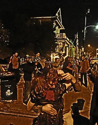 Sousaphone Wall Art - Photograph - New Orleans Slow Dance by Louis Maistros