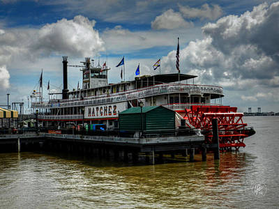 Jazz Photograph - New Orleans - Steamboat Natchez 001 by Lance Vaughn