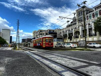 Photograph - New Orleans Street Car 001 by Lance Vaughn