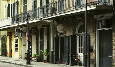 Voodoo Shop Photograph - New Orleans Street by Amber Smith