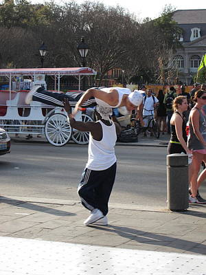 La Photograph - New Orleans - Street Performers - 121217 by DC Photographer