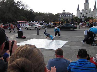 Performer Photograph - New Orleans - Street Performers - 121221 by DC Photographer