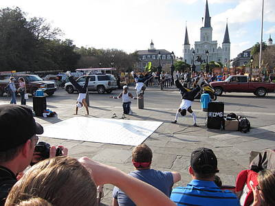 Orleans Photograph - New Orleans - Street Performers - 12129 by DC Photographer