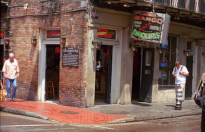 New Orleans Tavern Art Print by Frank Romeo