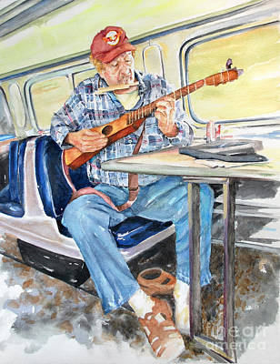 Painting - New Orleans Train To Hattiesburg by Cynthia Parsons