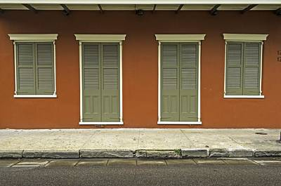 Photograph - New Orleans Windows  by Willie Harper