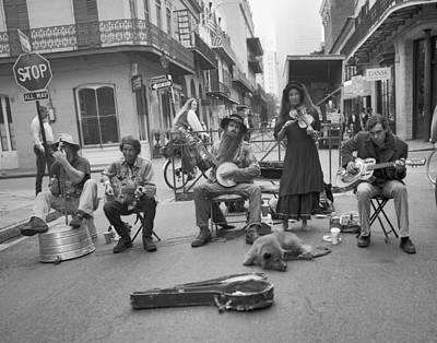 Street Muscians Wall Art - Photograph - New Orleans Zydico by Mel Felix