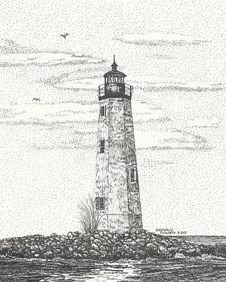 New Point Comfort Lighthouse II Original