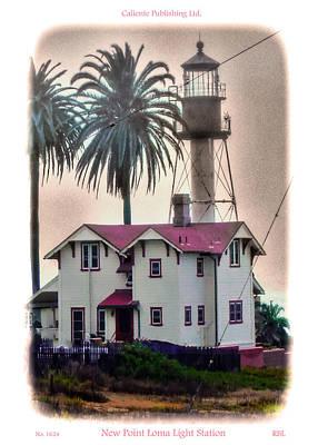 New Point Loma Light Station Art Print by Rick Lloyd