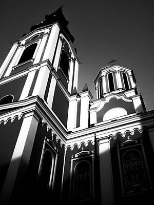 Sarajevo Photograph - New Pravoslav Church by Jon Gray