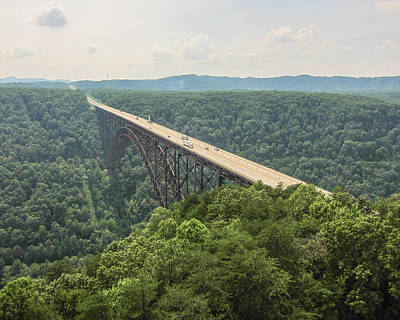 Photograph - New River Gorge by Elevated Element