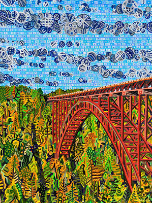 New River Gorge Bridge Painting - New River Gorge by Micah Mullen
