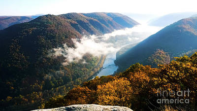 New River Gorge National River Art Print by Thomas R Fletcher