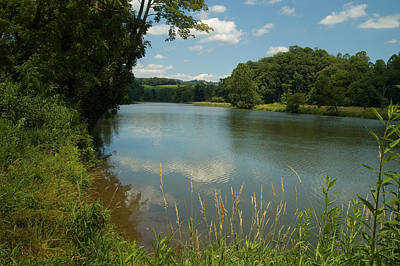 Photograph - New River, Virginia by Kenneth Murray
